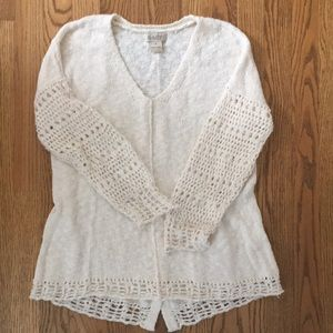 LUCKY BRAND Sweater, cream color